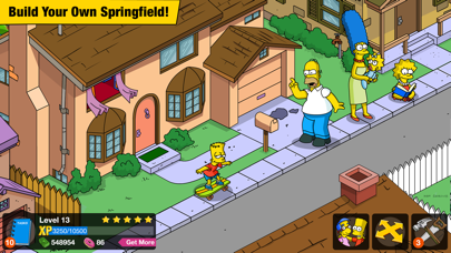Screenshot from The Simpsons™: Tapped Out