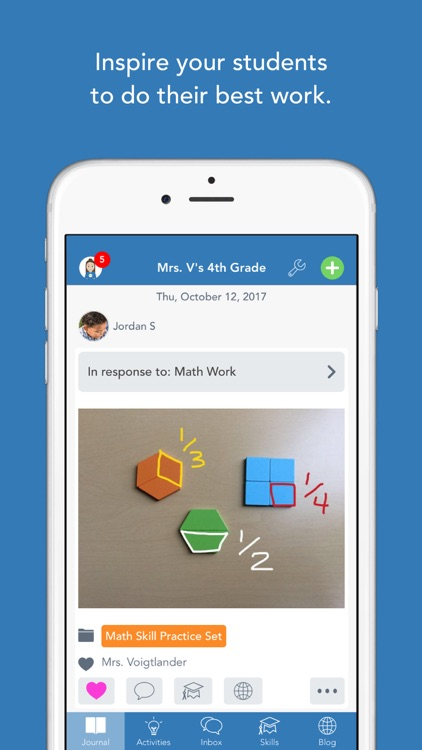 Seesaw: The Learning Journal screenshot-0