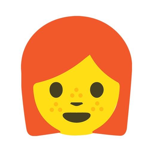 Redhead Emoji Stickers