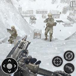 Snow Army Sniper Shooting War