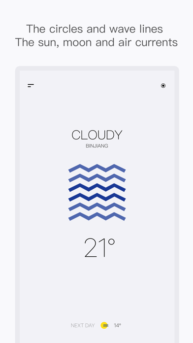 SimpleWeather-Minimalist Style Screenshot