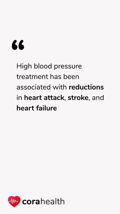 Screenshot for Blodtryk App – Cora Health in Denmark App Store