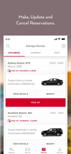 Avis Car Rental On The App Store