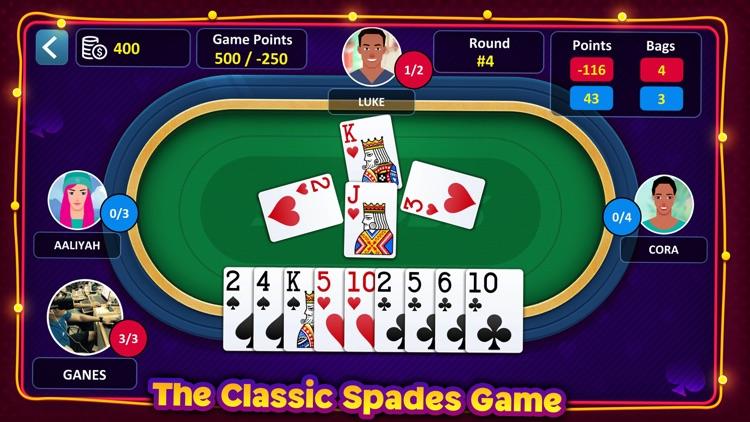 Spades: Casino Card Game screenshot-3
