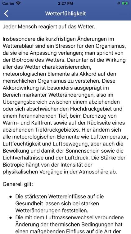 GesundheitsWetter screenshot-3