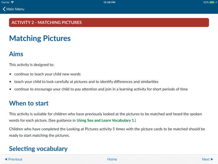 See and Learn Vocabulary 1 screenshot-0
