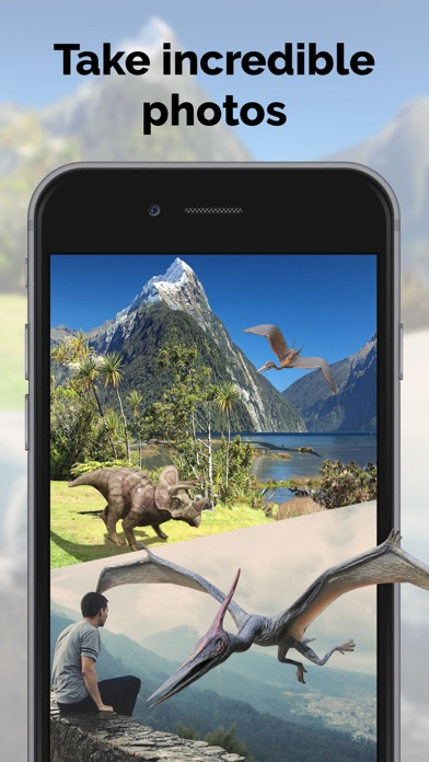 Dinosaurs in AR: Evolution screenshot two