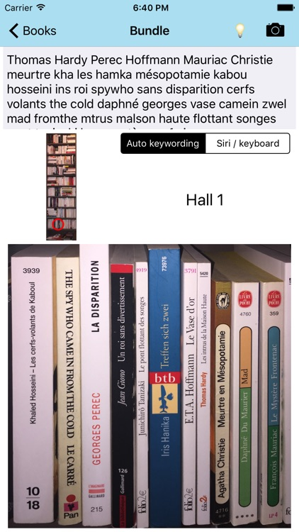 Find that Book - OCR library