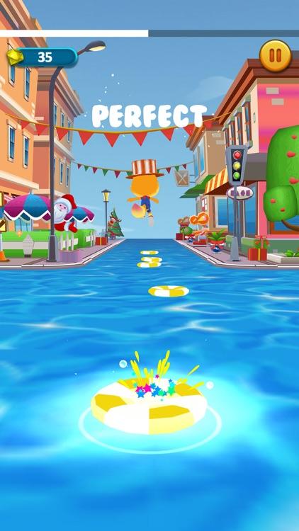 Music Bounce Hop Race screenshot-5