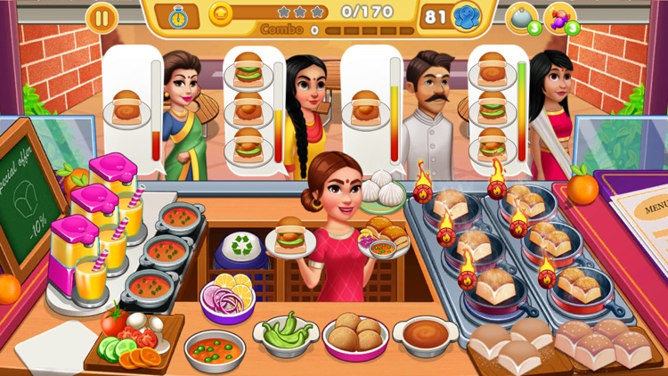 Indian Cooking Games Food Game