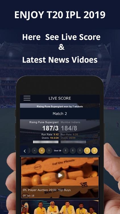 IPL 2019 Live Score & Schedule
