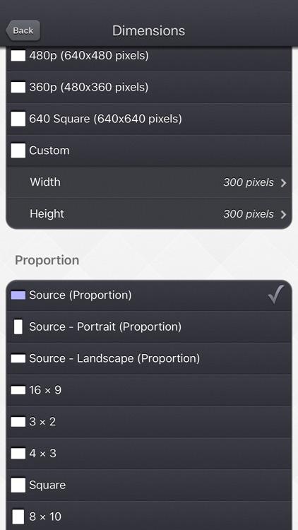 Video Resize & Scale - HD screenshot-4