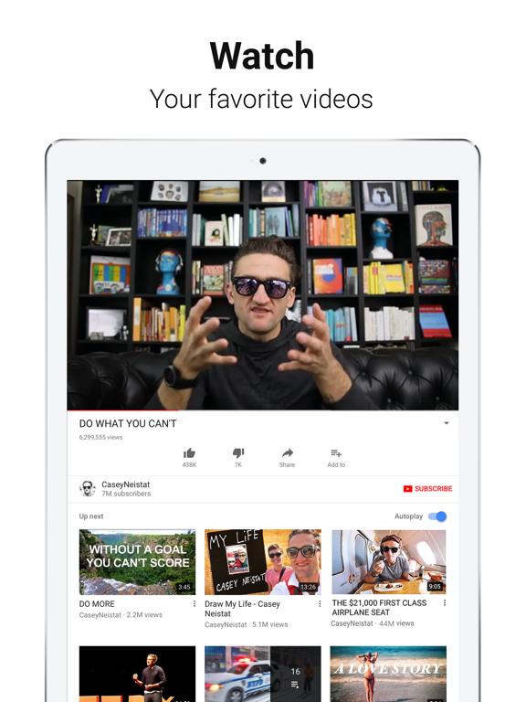 YouTube: Watch, Listen, Stream Screenshots