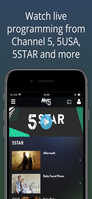 My5 - Channel 5 on the App Store