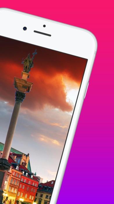 Screenshot of Varsavia Guida di Viaggio2