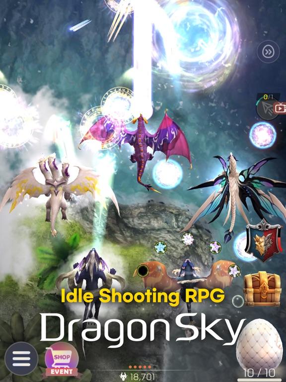 Ipad Screen Shot DragonSky : Idle & Merge 0