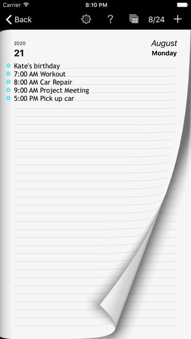 download Calendario Semanal Ultimate apps 1