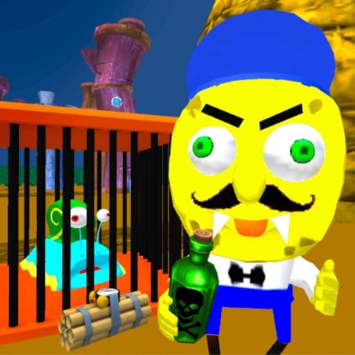 Sponge Neighbor Escape 3D iOS App