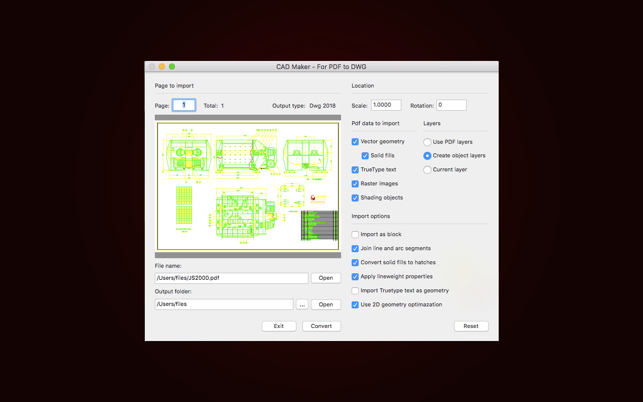 CAD Maker - For PDF to DWG on the Mac App Store