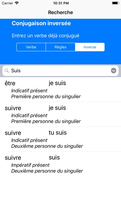 Le Conjugueur screenshot-4