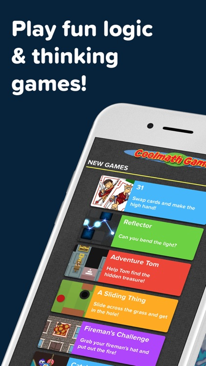 Coolmath Games: Fun Mini Games screenshot-0