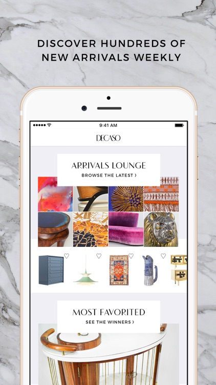 DECASO luxury home decor screenshot-0