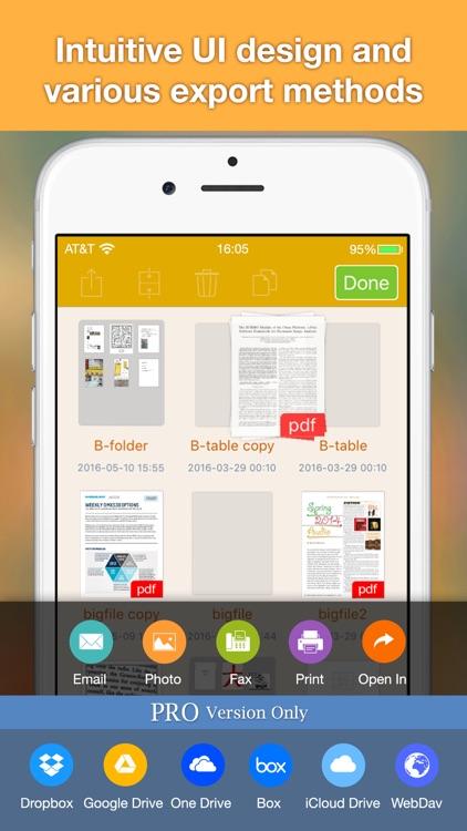 Docr - Book Scanner to PDF Doc screenshot-5