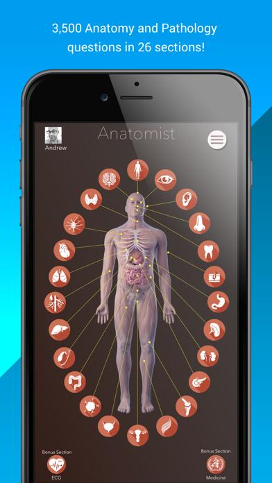 cancel Anatomist – Anatomy Quiz Game app subscription image 1