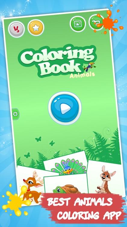 Coloring book: Draw Animals screenshot-4