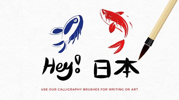 Calligraphy Calm - Ink Brush