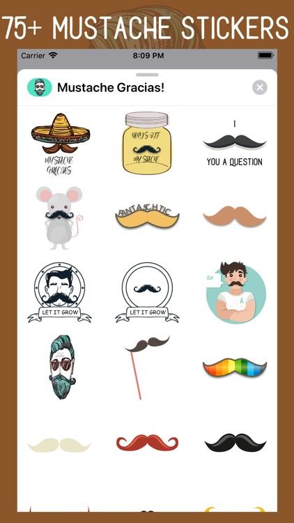 Mustache Gracias screenshot-0