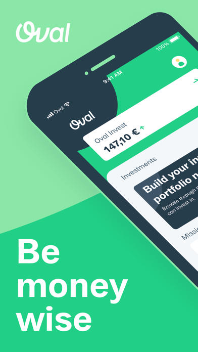 Oval - Be Money Wise screenshot one