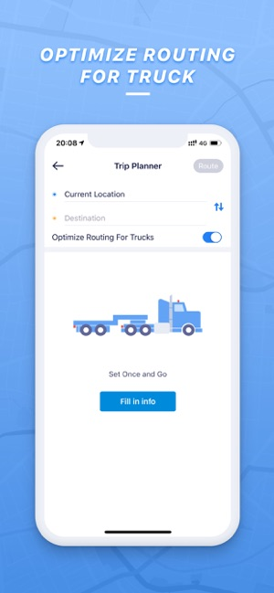 iphone gps apps for truck drivers