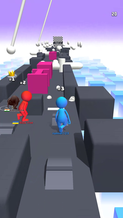 Human Runner 3D screenshot1