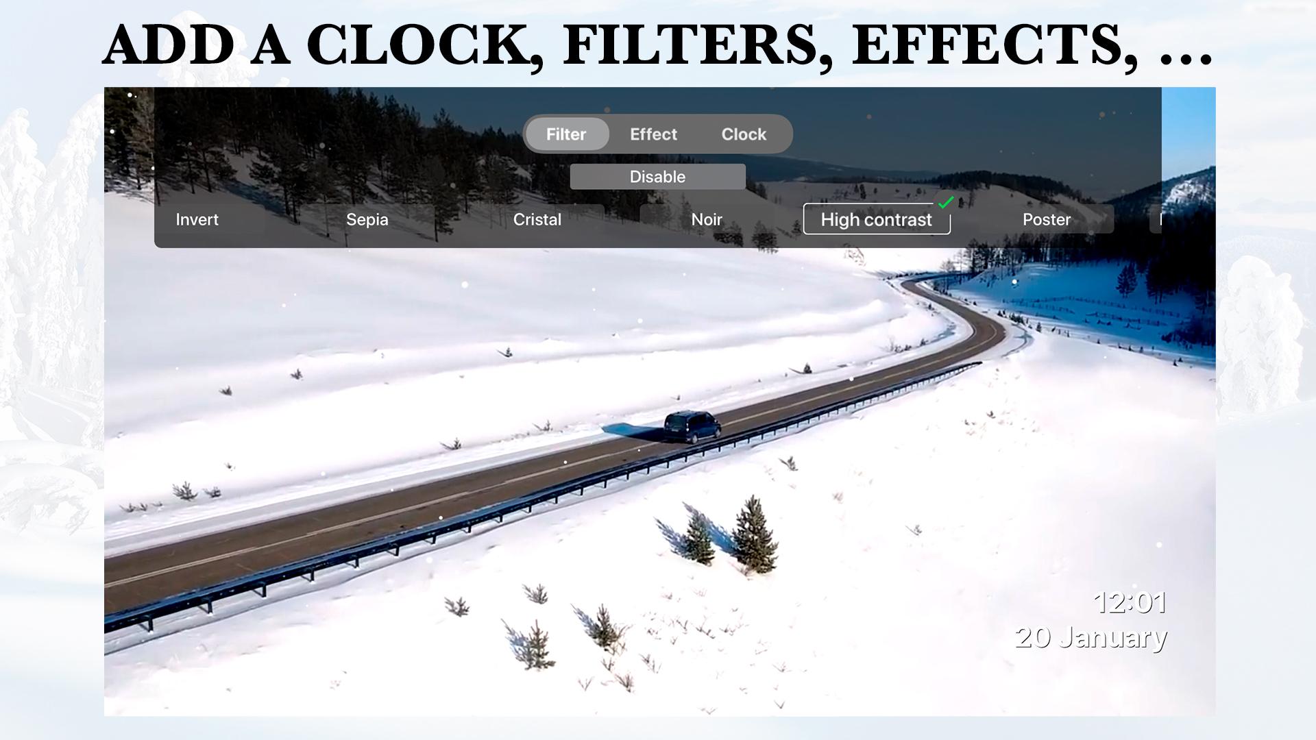 Winter Aereal screenshot 3