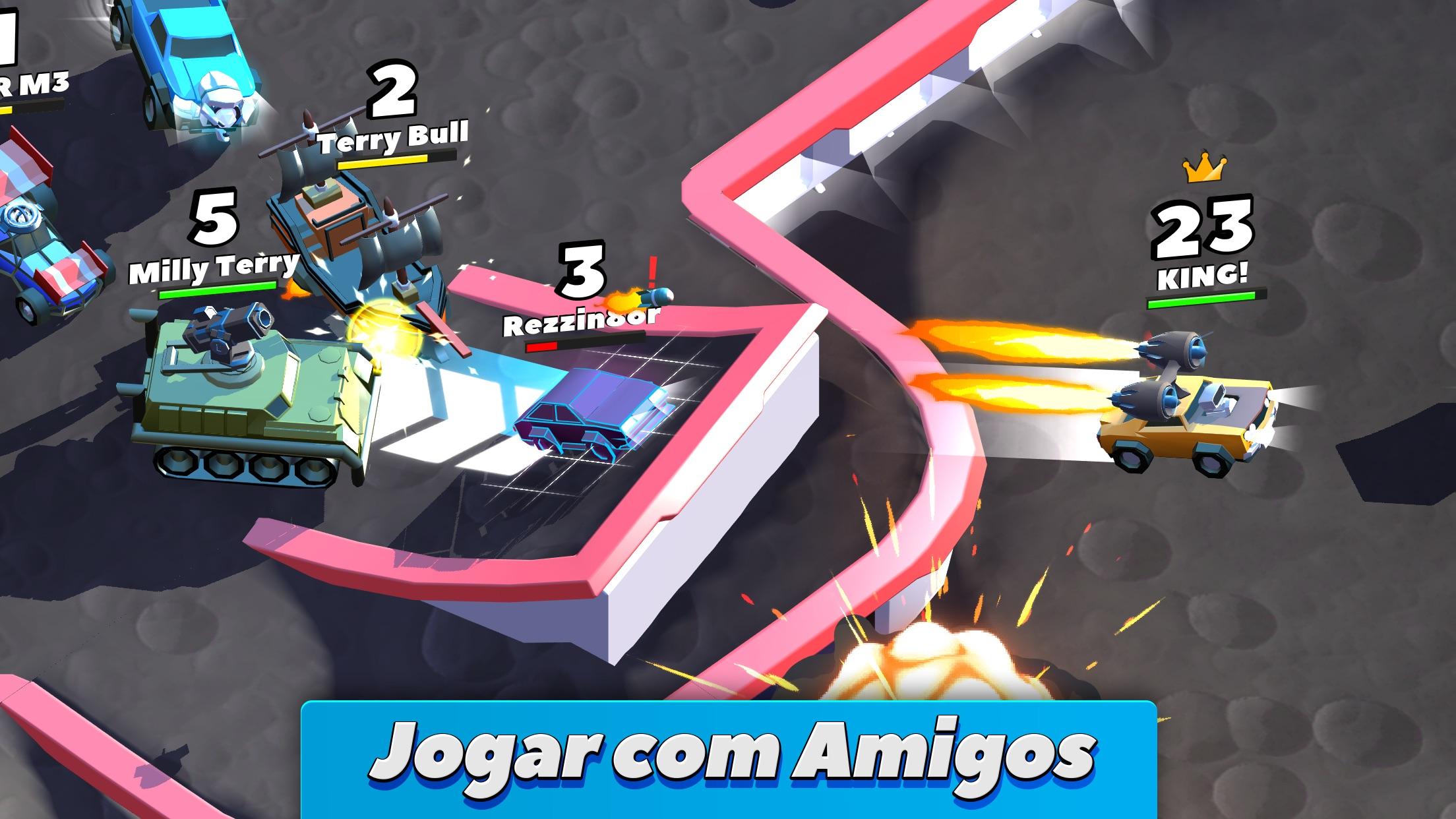 Screenshot do app Crash of Cars