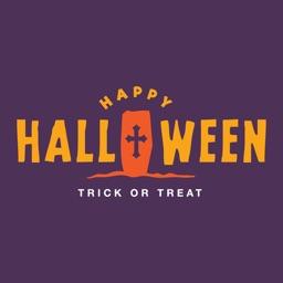 Halloween Night Sticker Party