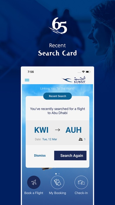 Kuwait Airways screenshot three
