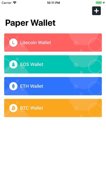 Digital Paper Wallet