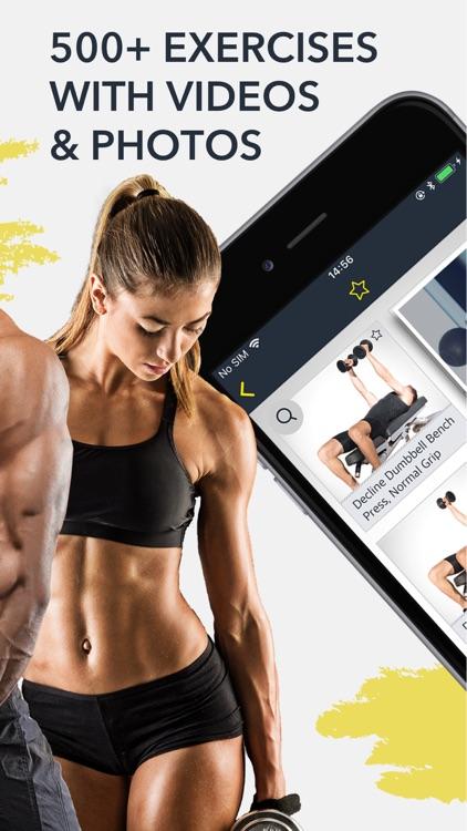 Workout: Gym tracker & planner screenshot-5
