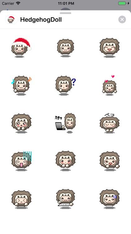 Hedgehog Doll screenshot-3