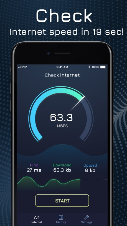 Wifi and Internet Speed Test