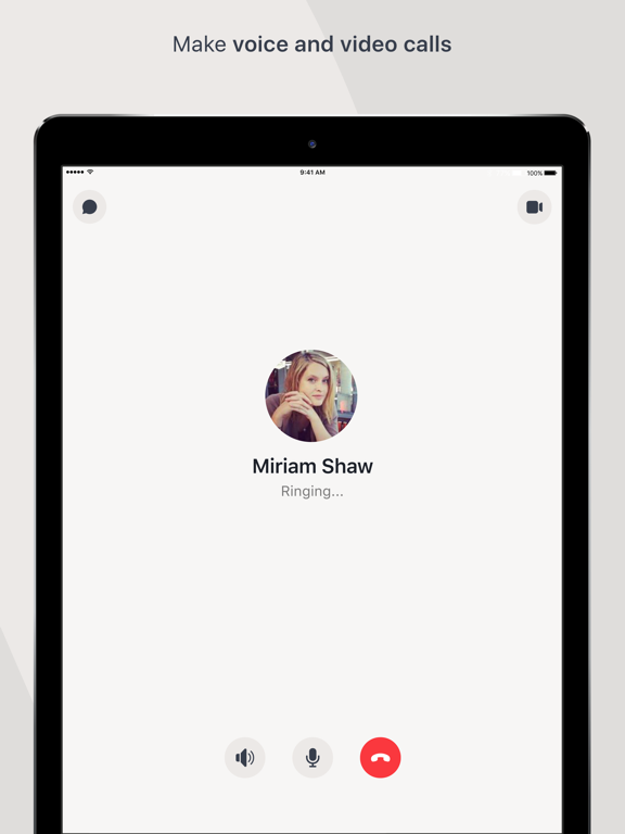 Workplace Chat by Facebook-ipad-1