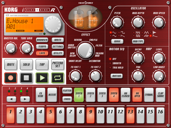 KORG iELECTRIBE for iPadのおすすめ画像2