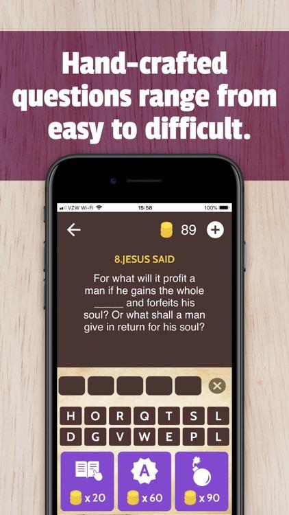 Bible Trivia App Game screenshot-4