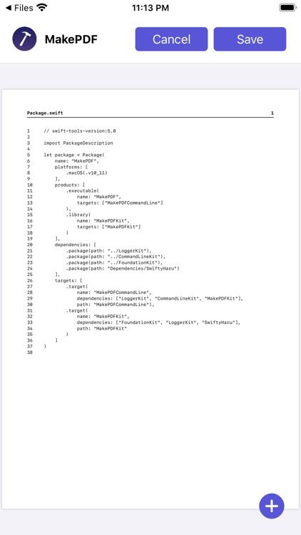 MakePDF: Document Merger