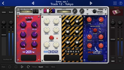 KORG Gadget 2 screenshot1