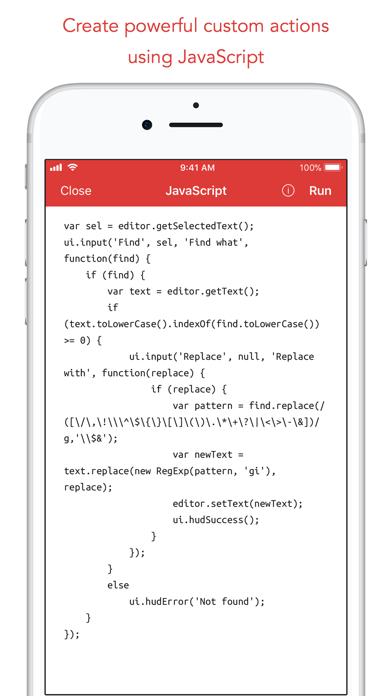 Скриншот №8 к 1Writer - Markdown Text Editor