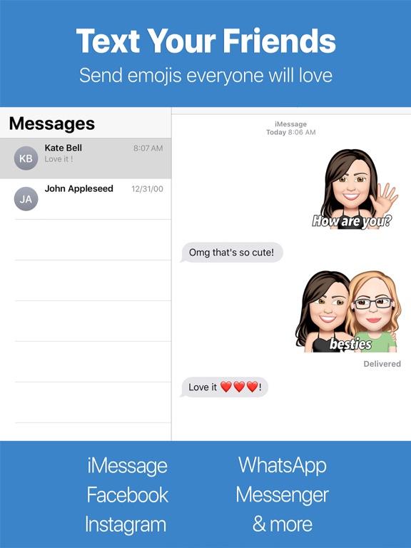 Screenshot #4 pour Emoji Me Face Maker For Moji