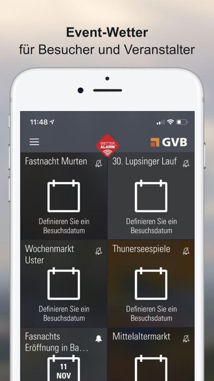 Wetter-Alarm: Schweiz screenshot-6